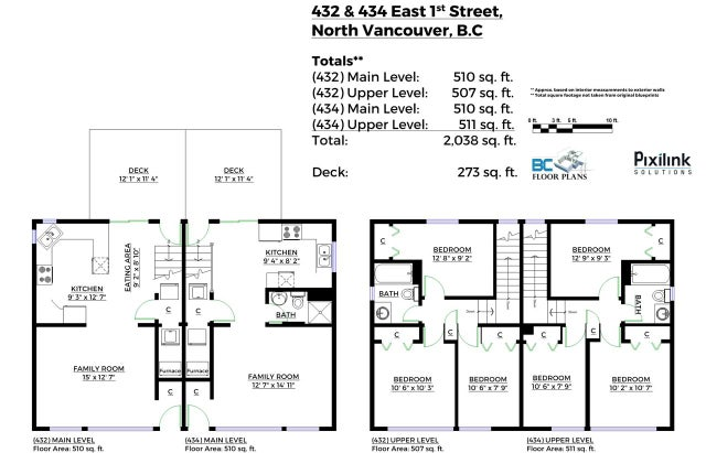 432-434 E 1ST STREET - Lower Lonsdale Duplex for sale, 6 Bedrooms (R2048588) #1