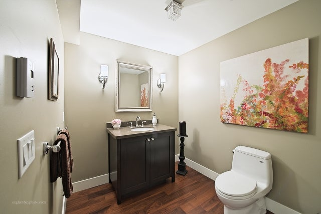 Powder Room On Main Level